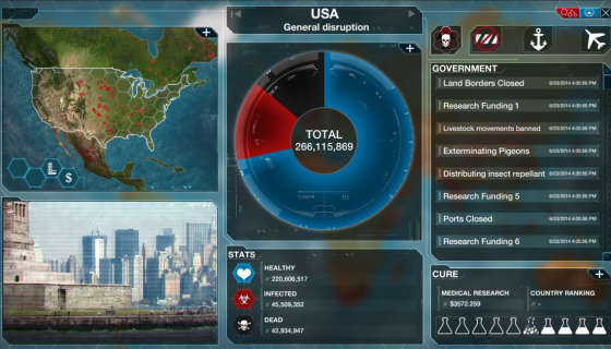 Plague Inc. Evolved World Screen